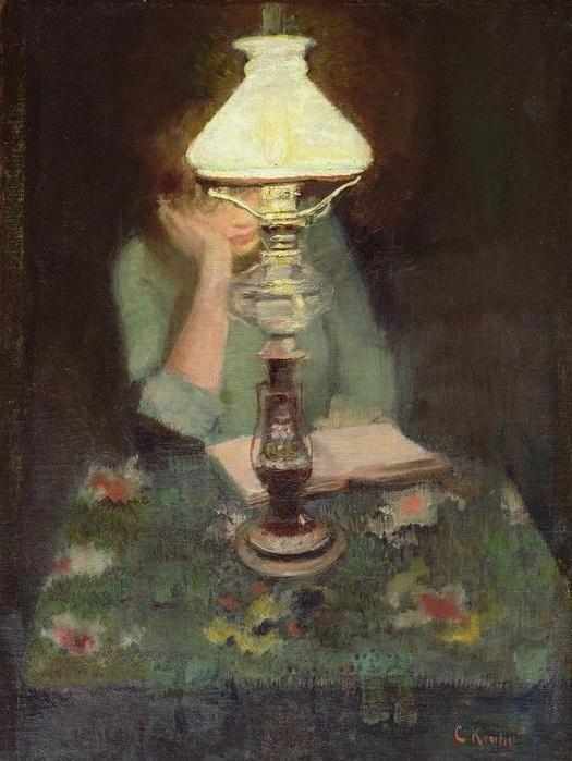 рассказ зеленая лампа краткое содержание