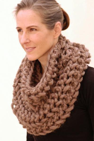 tricotat tricotat eșarfă
