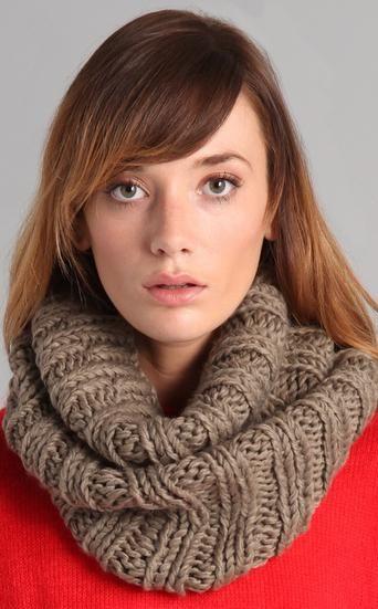 esarfa guler cum să tricot