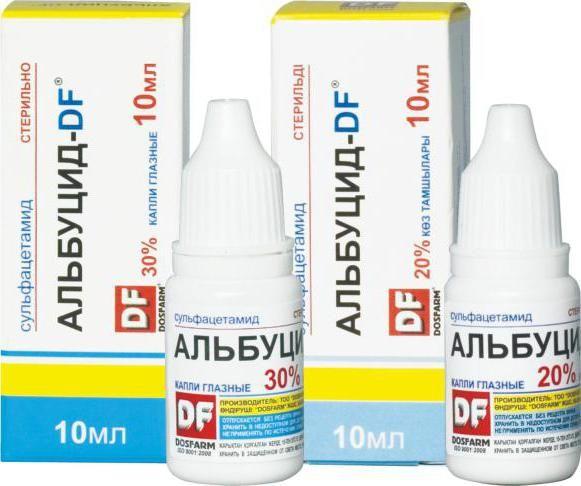 альбуцид это сульфацил натрия