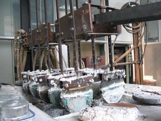 fabricarea metalelor din aluminiu