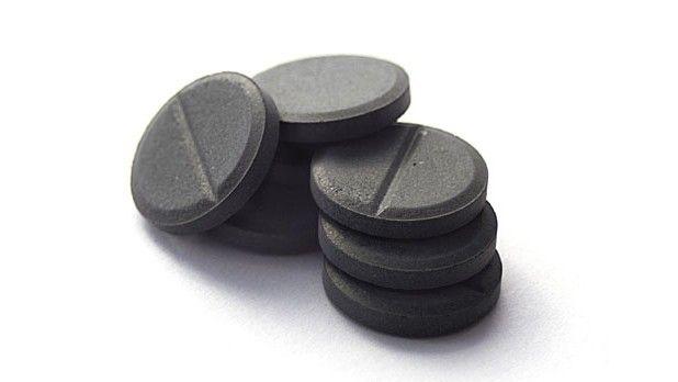 Cărbune activat pentru otrăvire cu alcool