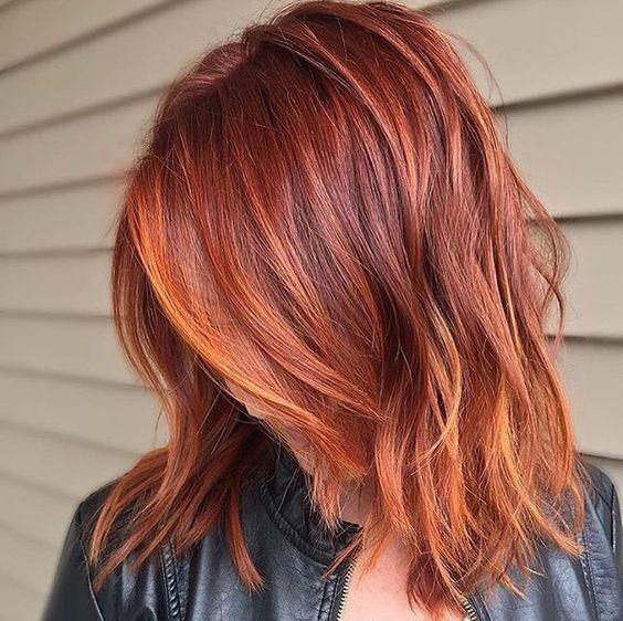 Marcajul american pe părul roșu