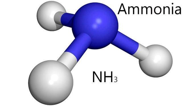 Formula de amoniac