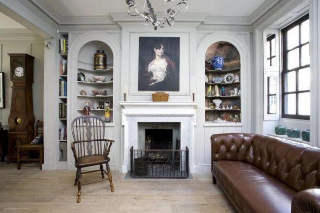 Stilul englezesc în interiorul apartamentului