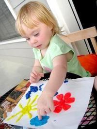 Aplicație pentru copii din hârtie și plasticină
