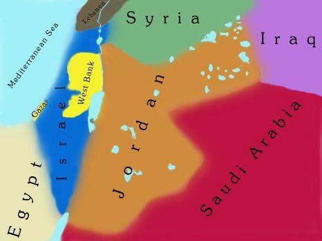 Harta Iordaniei