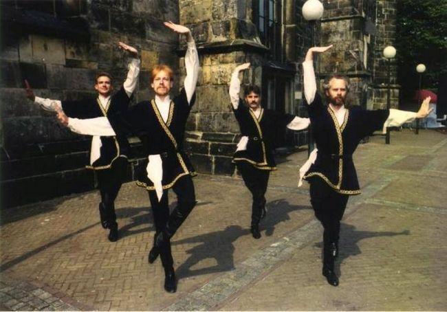 Dansuri armeane. Caracteristicile lor