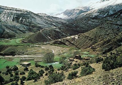 Munții Atlas - o țară montană separată