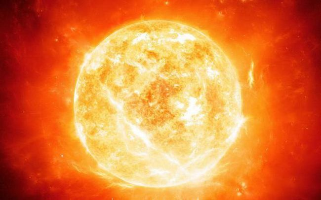 care este compoziția chimică a soarelui
