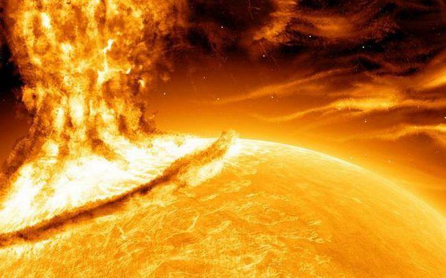 compoziția chimică a soarelui
