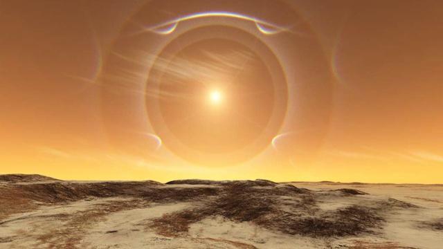 Atmosfera lui Marte