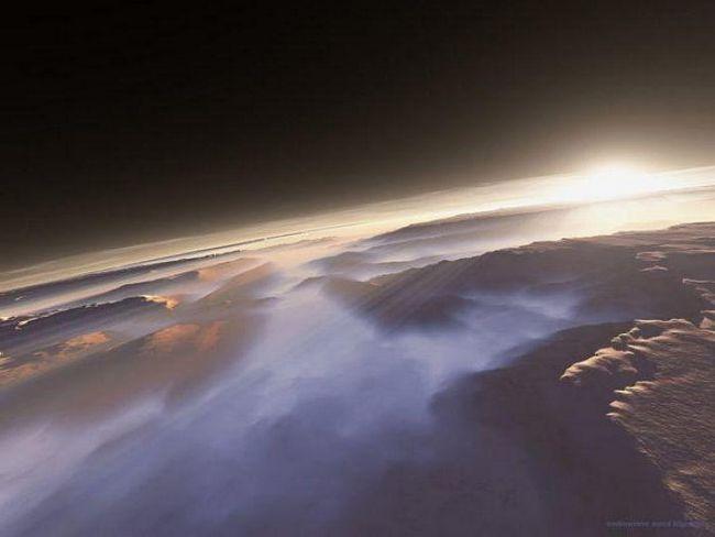 Atmosfera pe Marte