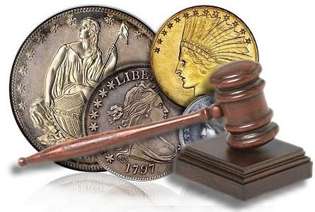 licitație de monede