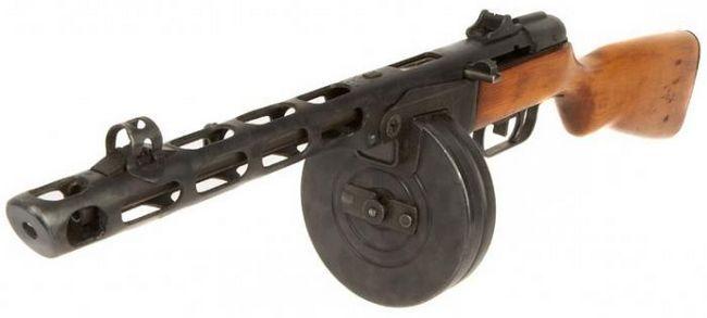 PPSh automat - arma victoriei