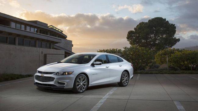 Chevrolet Malibu: poze, specificatii tehnice, recenzii