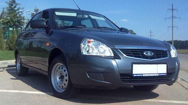Masina `Priora` (sedan): descriere, fotografie