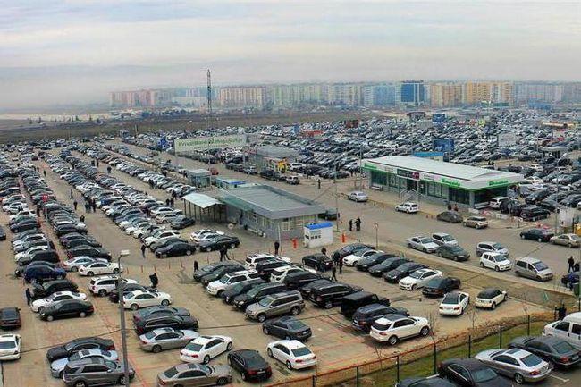 Autovehiculele de pe piața auto din Abhazia