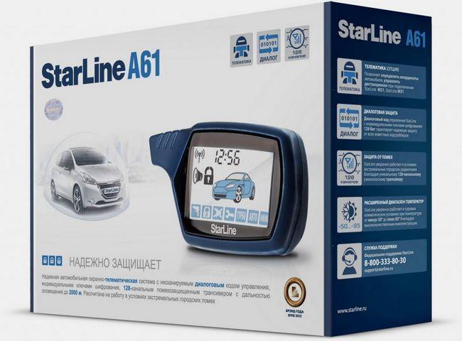 Alarmă auto Starline A61 Dialog