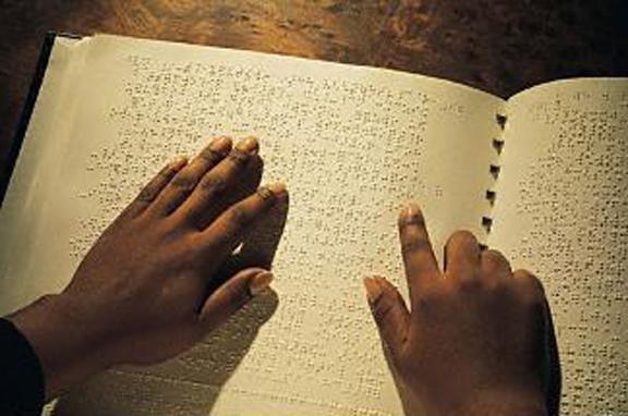 Braille alfabet pentru orb