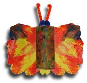 Butterfly din hârtie - o bucată de vară pe tot parcursul anului