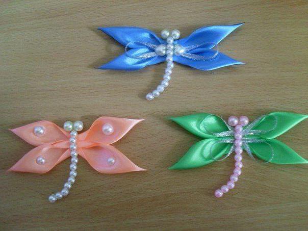 Cum sa faci un fluture dintr-o panglica cu mainile tale