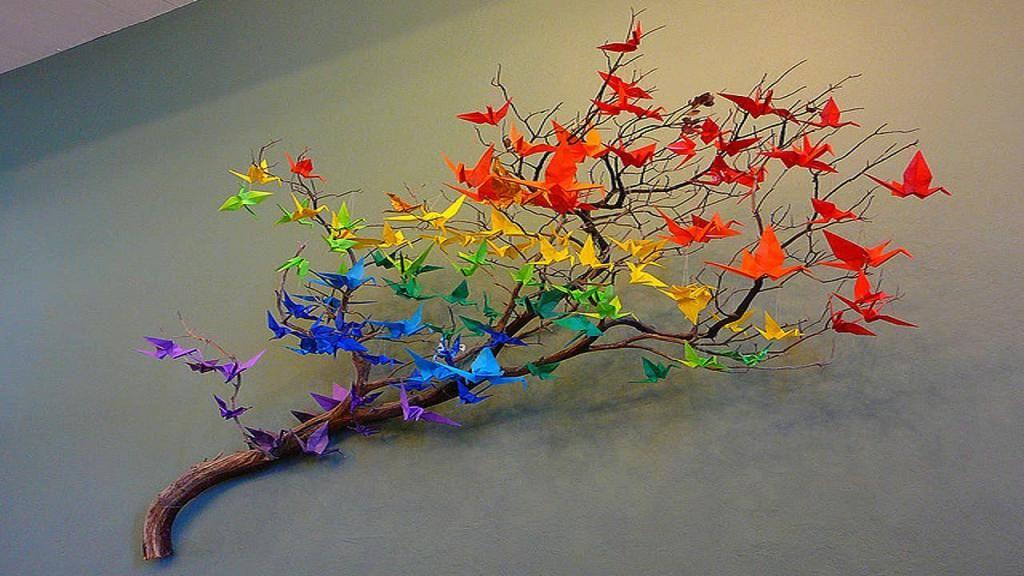 decorarea fluturilor