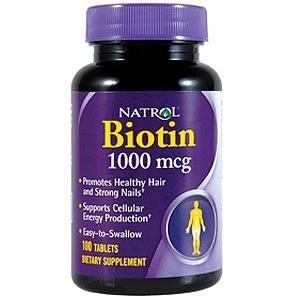 vitaminele biotin