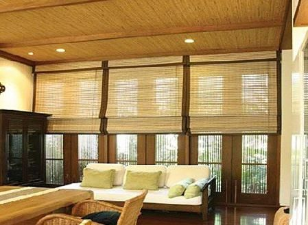 Bamboo în interior