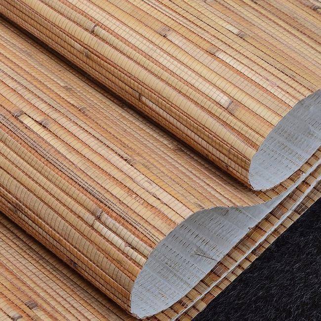 Bamboo tapet în interior: fotografie, cum să lipici?