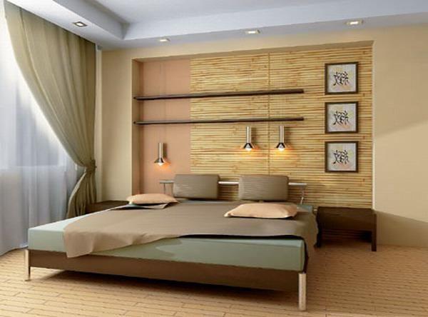 bambus în interior