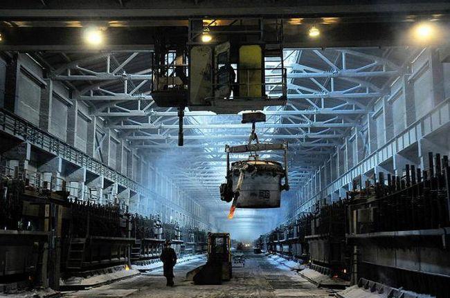 a sparge sistemul de producție al fabricii de aluminiu fraternă