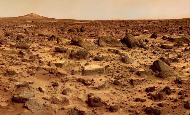 Marte caută viață