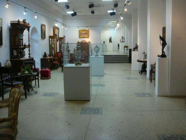 sala expozițională centrală Adresa Perm