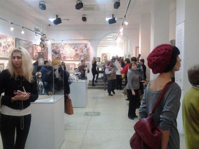 Sala de expoziție centrală Perm ore de lucru