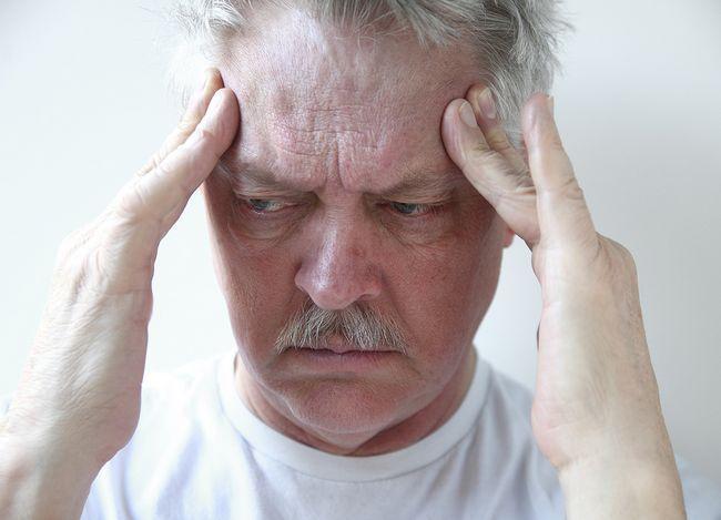 Presiunea - cauza durerilor de cap la bărbați