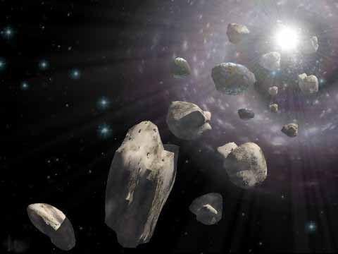 ceea ce este obișnuit între meteoriți și meteoriți