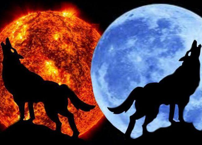 care este diferența dintre lună și soare