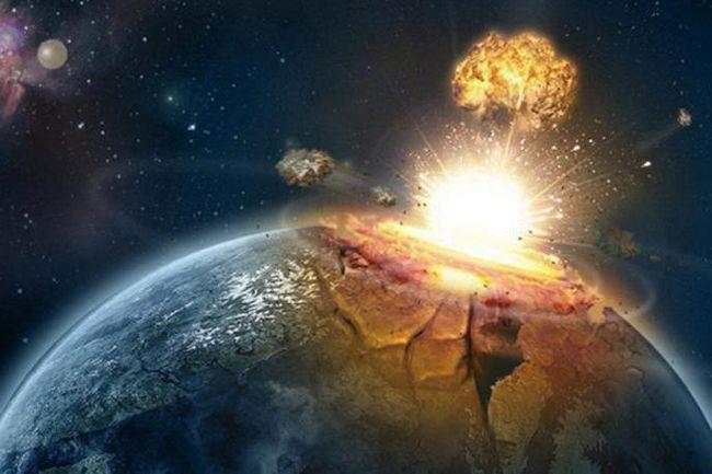 consecințele căderii meteoritului