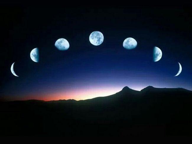 ce influență are luna pe pământ
