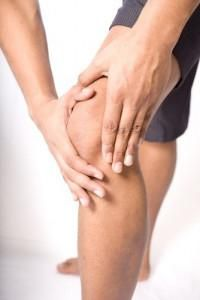 umflarea genunchiului după accidentare
