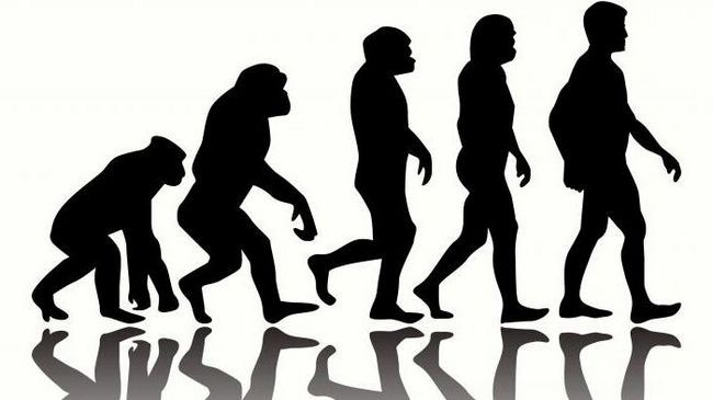 pentru evoluția umană este caracteristică