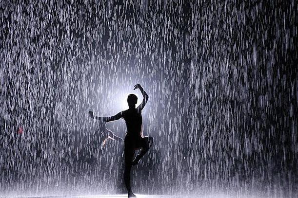descrierea ploii în stil științific