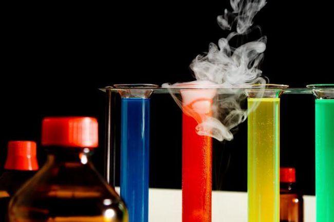 esența proceselor chimice