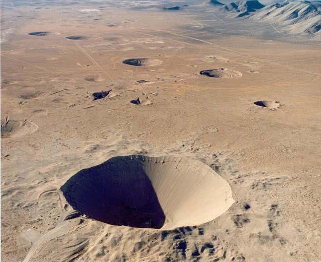 ce este un crater
