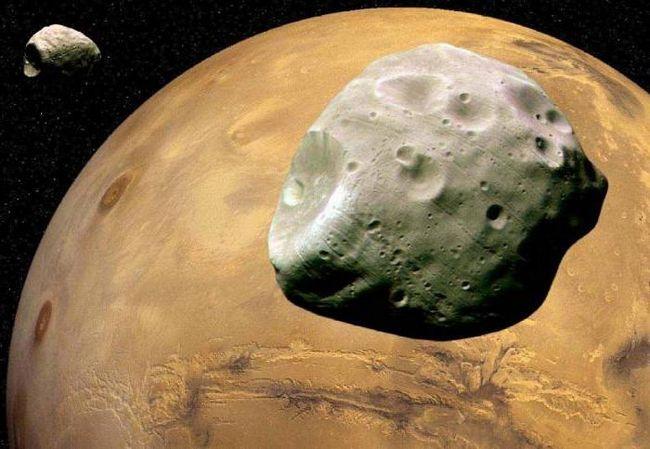 planeta mars vârstă