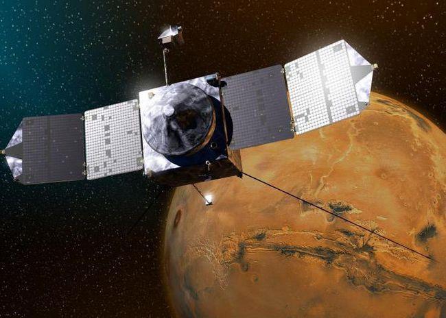 vremea pe Marte