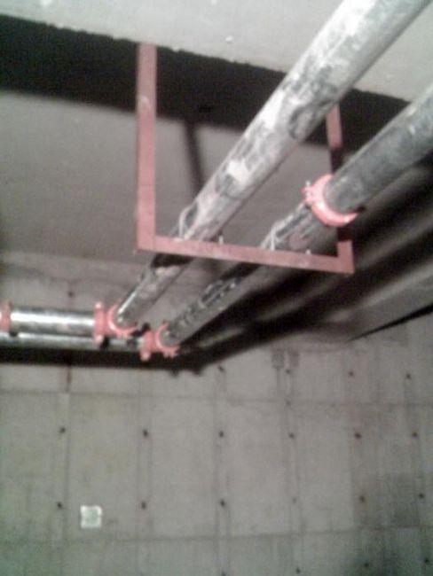 instalarea conductelor de încălzire