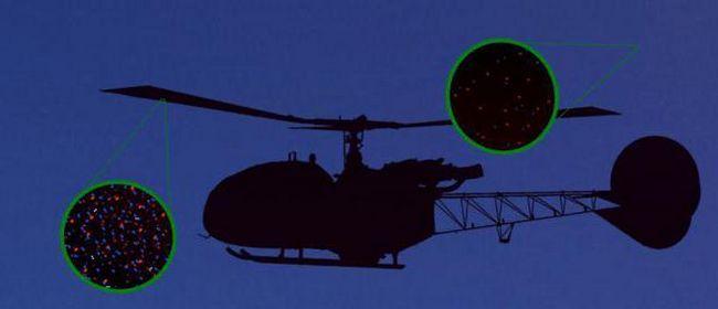elicopter și aer rarefied