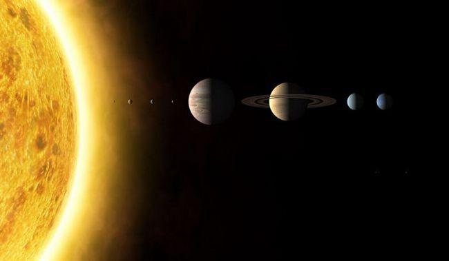 ceea ce este sistemul solar